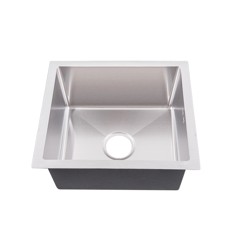 Customized 304 stainless steel kitchen sink single bowl