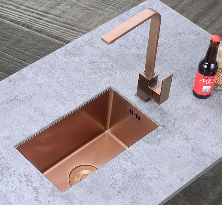 304 handmade rectangular used undermount kitchen sinks stainless steel sink for sale  - 副本