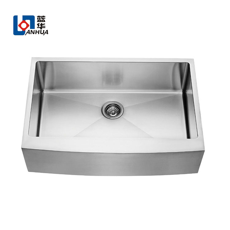 Hot sale stainless steel farmhouse single bowl kitchen sink