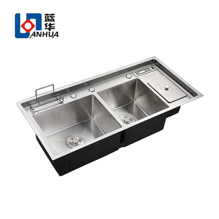 Multifunction stainless steel kitchen sinks