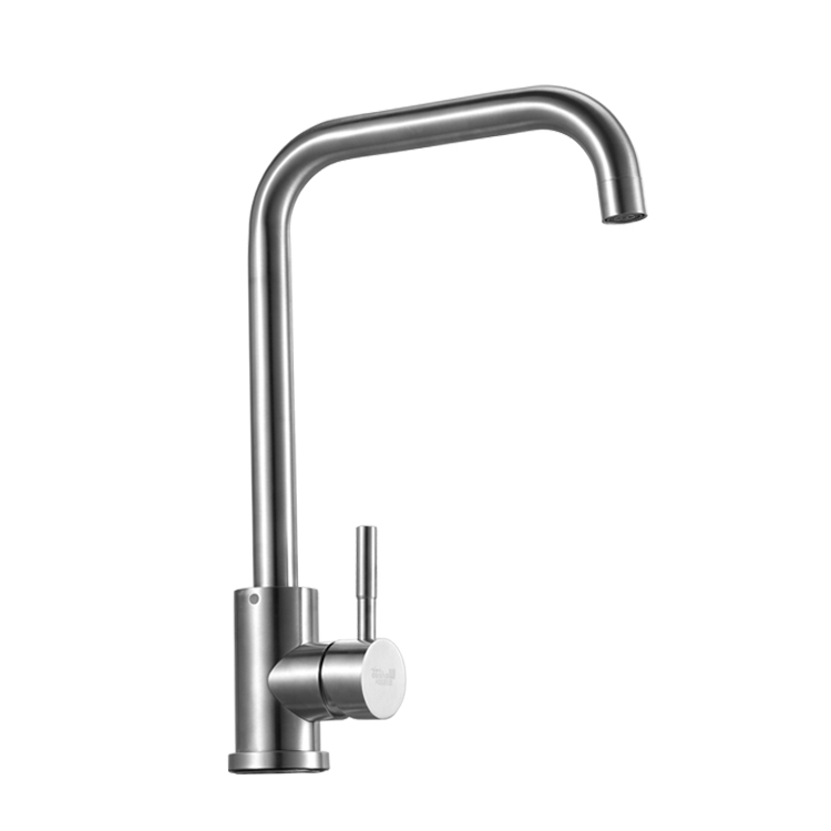 304 Stainless Steel Desk Mounted Kitchen Faucet