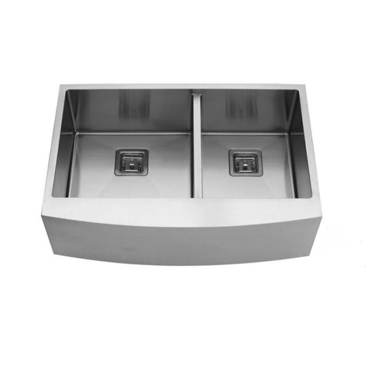Hot sale stainless steel apron sink