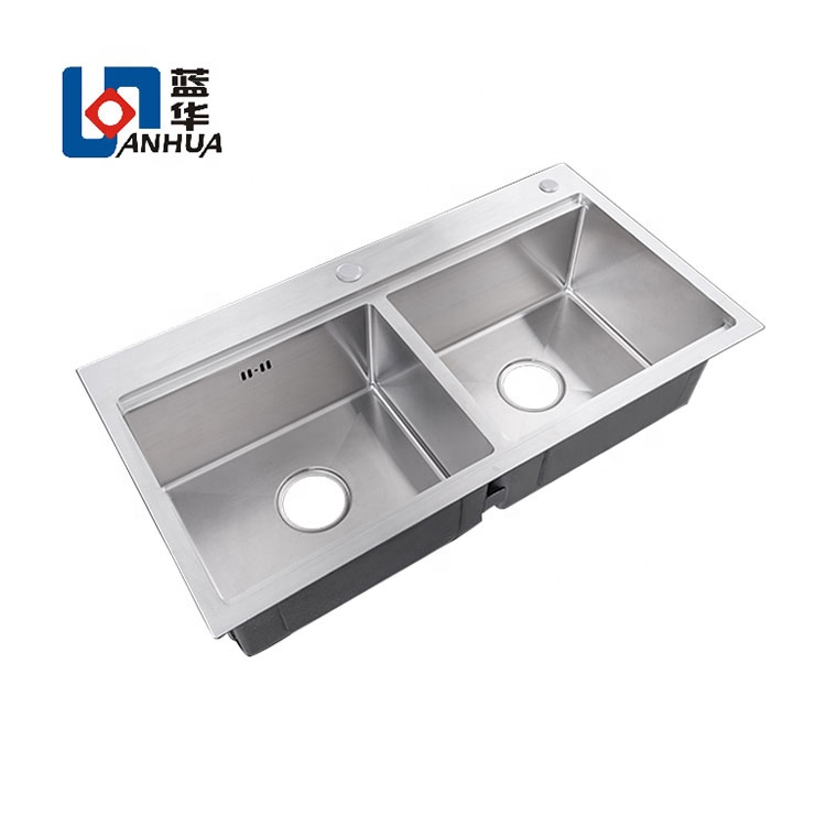 2020 modern designs brushed surface apartment size kitchen sinks