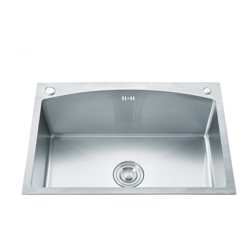 ARC Shape SUS 304 Stainless Steel Handmade Kitchen Sink Price