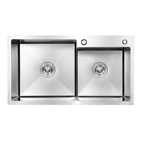 Resistance double bowl 304 stainless steel kitchen sink