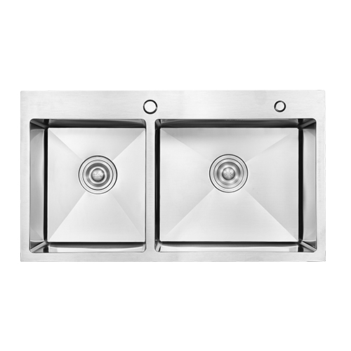 Modern Simple design portable custom size handmade undermount kitchen sink wholesale stainless steel