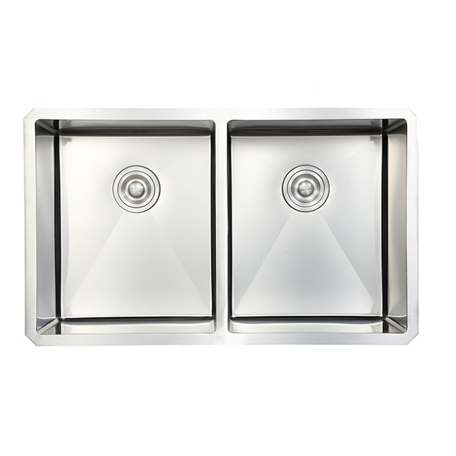 Undermount Stainless Steel Kitchen Sink Double Bowl