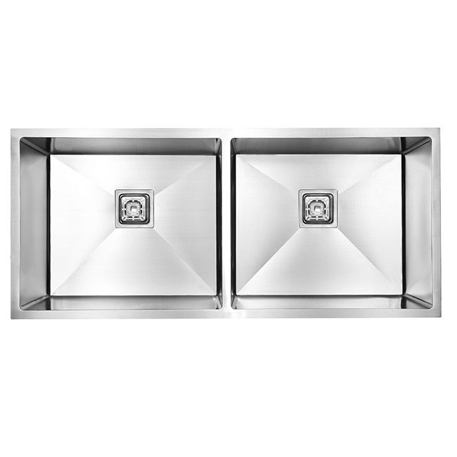 304/2041  Stainless Steel Kitchen Sinks Double Bowl